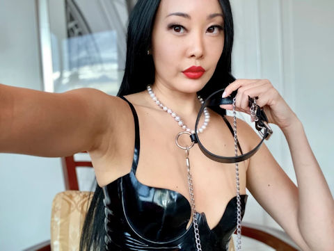 Eva Oh is a 35-year-old Chinese-Burmese-English-Irish professional dominatrix.